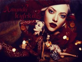 Amanda Seyfried Wallpaper by Seia5018