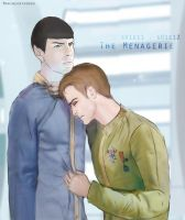 Art trade - Spirk The Menagerie by MarineOrthodox