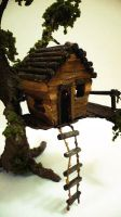 Treehouse model close up by AshBob87