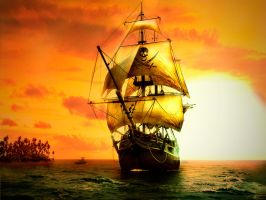 Pirate Ship by bbruschi