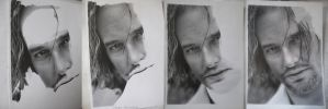Josh Holloway WIP by TanyaMusatenko