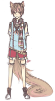 I FINALLY MADE A SHOTA OC GUYS WOOHOO by Akeita