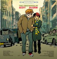 The Freewheelin' Scott Pilgrim by strawmancomics