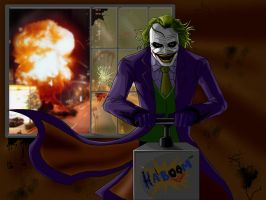 Joker KABOOM by darknight7
