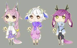 Collab with kiim-adopts by Bonelo