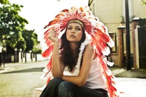 Street Native Indian by DreamCatCheuse