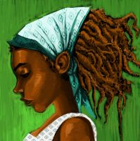 Rasta Girl by zigbone