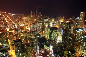 Chicago Cityscape by Phate1596