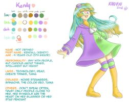 Kendall - New ref by Val-Krayon