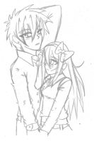 guy and rose sketch 1 by manga-kachazchan
