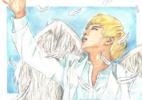 BAP: Angel Daehyun by BabyReni