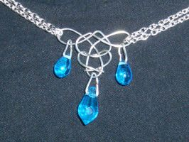 Celtic Knot -Aqua- by PirateWolfBlade
