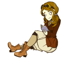 Myself in Deponia by GilbertsBeer