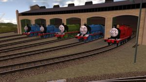 The Revamped NWR Fleet as of October 20, 2012 by Sergeant-Sunflower