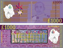 1000 linrel note, Series F by Ienkoron