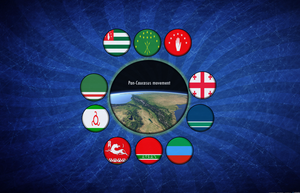 Nations of the caucasus by SkudasLazepe2012