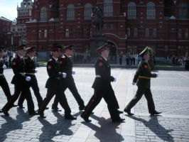 Suvorov Graduation Parade by rlkitterman