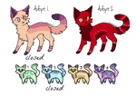 .:[OTA] Remaining Adopts!:. by meow-adoptables