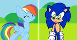 SonicDash Moment by HeartinaThePony