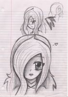 Another drawing of Sabrina by NinjaZombie5692