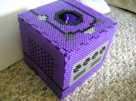 Perler GameCube Tissue Box 2 by IHeartKitties