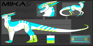 Mika Pitfield Dragonoid Reference by ConduitofBreath