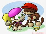 Dixie Kong's Tail by kjsteroids