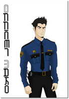 LOK: Adult Mako- Modern Officer by ButterflyMelodyFox