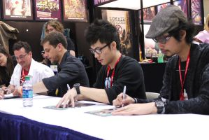 Heavy Metal Magazine Signing by makepictures