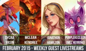 February 2015 Guest Livestreams! by CGCookie