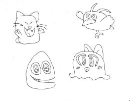 Kirby Characters 2 by Dancrew2010