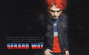 Gerard Way wallpaper 009 by saygreenday