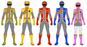 REQUEST: Ninjuu Sentai Shinobiman by CaptainKessler