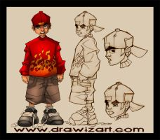 hip hop by drawizart