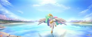 Princess Celestia by balade