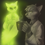 Drs. Schrodinger and Schrodinger by feathergills