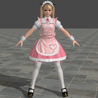Dead or Alive 5 Ultimate - Maid - Marie Rose by Irokichigai01