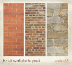 Brick Walls photo pack by ashzstock