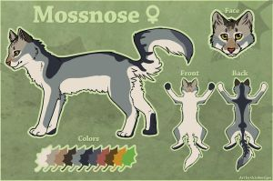 Mossnose Ref by Octobertiger