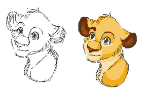 Simba experiments by Iva-Inkling