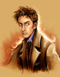 Tenth Doctor Who by FairyGodfather