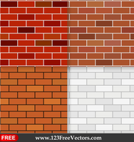 Brick Wall Texture Seamless Pattern Background by 123freevectors
