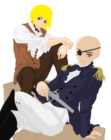 Male Emily with male friend by kagomeandsesshomaru9
