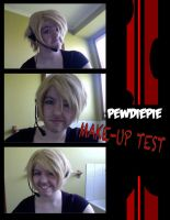 Pewdiepie Make-Up Test by Dreamer-Scribe