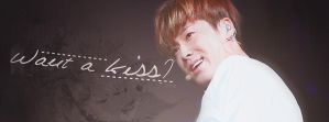 YunHo: Want a Kiss by o3he0