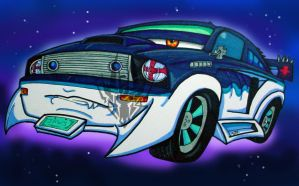 Cars...Shark by TaiOMega