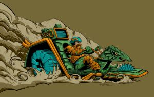 Man-at-arms by jakeallenesq