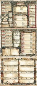 Conan RPG Character Sheet by FrancescaBaerald