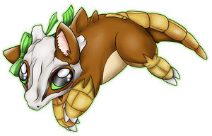 Pokemon Hybrid Cubone by Zusuriki
