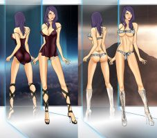 Milla V9 Outfits 6 by LessRuth